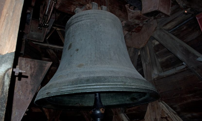 The Dame Cathedral's Emmanuel Bell is 13 tons!