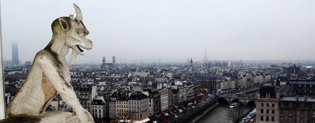 Notre Dame Cathedral Gargoyle