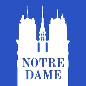 Notre Dame Cathedral Website Logo